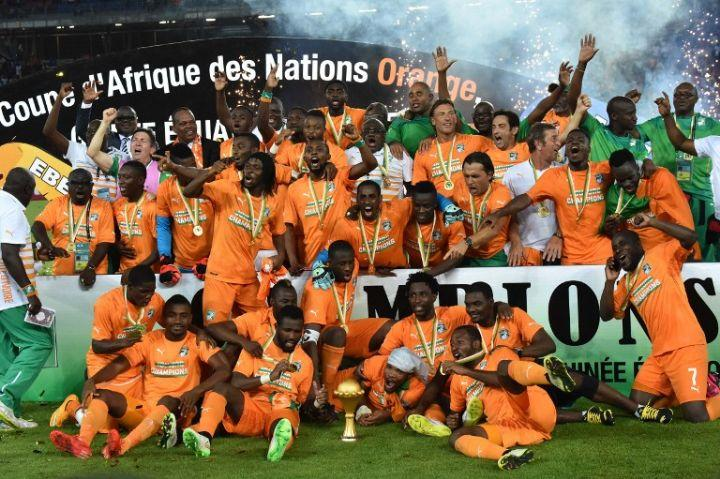 NATIONAL TEAM, WINNER OF 2015 ( AFRICA CUP OF NATIONS)