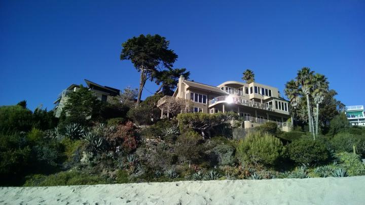 Maison à la plage