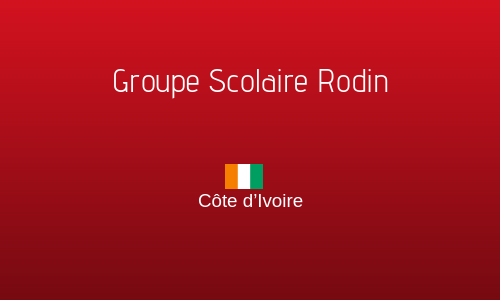 GROUPE SCOLAIRE RODIN