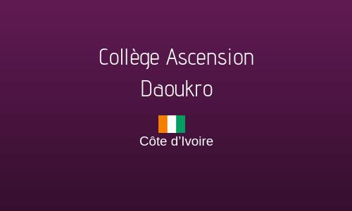 COLLÈGE ASCENSION DAOUKRO